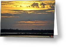 019 April Sunsets Greeting Card