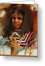 025 Sindh B Greeting Card