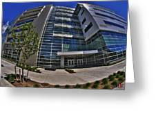 03 Conventus Medical Building On Main Street Greeting Card
