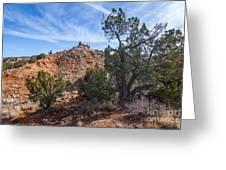 030715 Palo Duro Canyon 043 Greeting Card