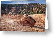 030715 Palo Duro Canyon 049 Greeting Card