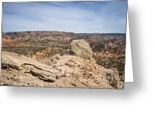 030715 Palo Duro Canyon 118 Greeting Card