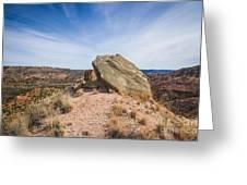 030715 Palo Duro Canyon 123 Greeting Card