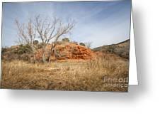 030715 Palo Duro Canyon 160 Greeting Card