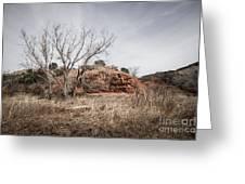 030715 Palo Duro Canyon 161 Greeting Card