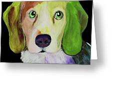 0356 Dog By Nixo Greeting Card