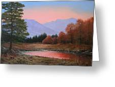 051116-3020     First Light Of Day   Greeting Card