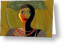 052 -   Nana Golden Greeting Card
