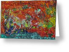 057 Abstract Thought Greeting Card