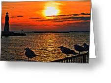 06 Sunset Series Greeting Card
