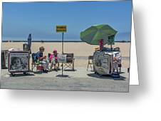 0676- Venice Beach Greeting Card