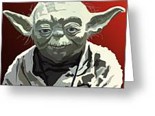 068. Do Or Do Not. There Is No Try Greeting Card by Tam Hazlewood