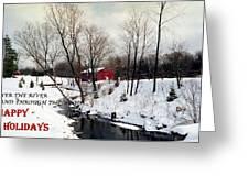 072606-31b  Holiday Greetings Greeting Card