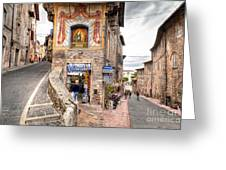 0755 Assisi Italy Greeting Card