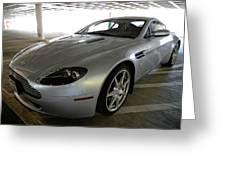 08 Aston Martin Greeting Card