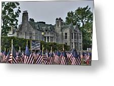 08 Flags For Fallen Soldiers Of Sep 11 Greeting Card