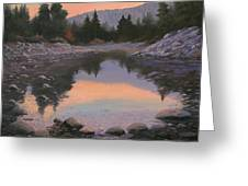 080110-2016  Sundown Reflections Greeting Card