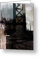 083 Manhattan Bridge Greeting Card