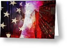 090 Look Up New York Greeting Card