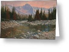 090504-1216   Rocky Creek Greeting Card