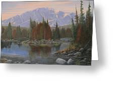 090506-1418   Colorado Morning Greeting Card