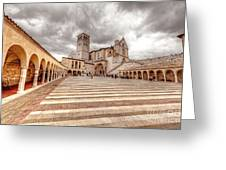 0954 Assisi Italy Greeting Card