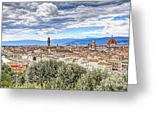 0960 Florence Italy Greeting Card