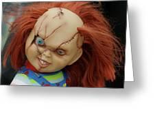 Chucky's Back Greeting Card