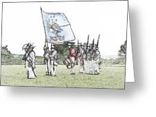 1812 Soldiers Greeting Card