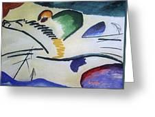 1911 Vasily Kandinsky Greeting Card