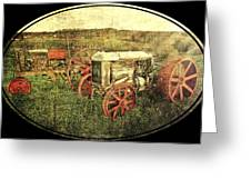 Vintage 1923 Fordson Tractors Greeting Card