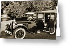 1924 Buick Duchess Antique Vintage Photograph Fine Art Prints 10 Greeting Card