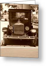 1926 Model T Greeting Card