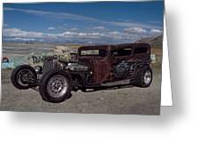 1932 Chevrolet Rat Rod Greeting Card