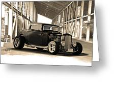 1932 Ford Lil' Deuce Coupe Greeting Card