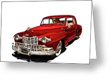 1946 Lincoln Continental Mk I Greeting Card