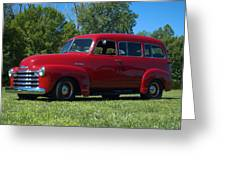 1953 Chevrolet Suburban Greeting Card