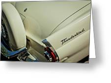 1956 Ford Thunderbird Spare Tire Greeting Card