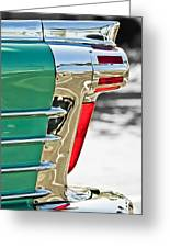 1958 Oldsmobile 98 Taillight Greeting Card