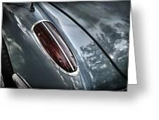 1960 Chevrolet Corvette Taillight Greeting Card