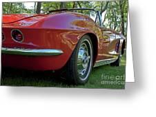 1962 Corvette Greeting Card