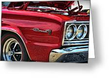 1966 Dodge Coronet 500 426 Hemi Greeting Card