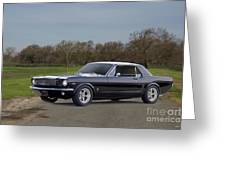 1966 Ford Mustang Coupe I Greeting Card