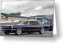 1966 Ford Mustang Coupe II Greeting Card