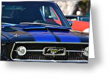 1967 Mustang Fastback Greeting Card