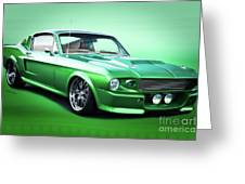 1968 Ford Mustang Fastback I Greeting Card