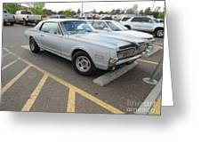 1968 Mercury Cougar Xr7 Greeting Card