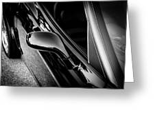 2002 Corvette Ls1 Painted Bw Greeting Card