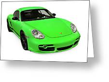 2008 Porsche Cayman S Sport Greeting Card