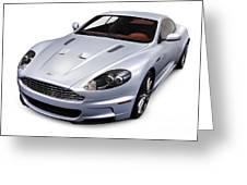 2009 Aston Martin Dbs Greeting Card by Oleksiy Maksymenko